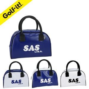 ゴルフ ラウンド 用品 ライト C-55 ラウンドバッグ SAS×Golf it! 【サイズ:幅30...