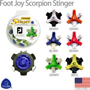 【即納】 チャンプ CHAMP フットジョイ スコーピオン スティンガー (FootJoy SCORPION Stinger) (TRI-LOK) スパイク鋲 US純正品 CHP12542|golfhands