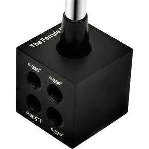 ゴルフ クラブ 組立 工具 リシャフト用 ソケットツール シャフト径 測定 兼 ソケット打込ブロック FBLOCK