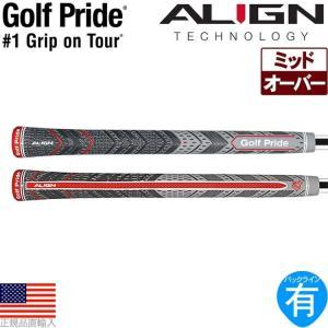 【2017年モデル】 ゴルフプライド マルチコンパウンド プラス4 ミッド アライン (Golf Pride MCC PLUS4 MID ALIGN) ウッド&アイアン用グリップ GP0124 M4XM|golfhands