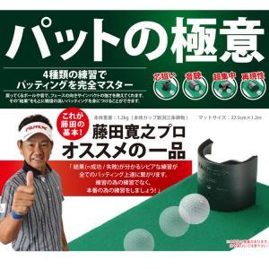 ゴルフ トレーニング 練習 器具 タバタ 藤田 Fujita マルチカップ パットの極意 GV-0138