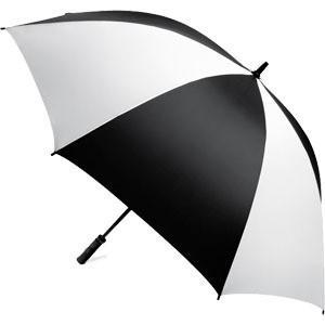 ゴルフ 傘 アンブレラ 雨用品 ツアーギヤー社 デラックス モノクロ 62インチ UV ゴルフアンブ...
