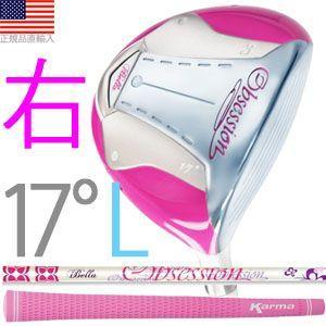 イベラ オブセッション(iBella Obsession) フェアウェイ ウッドクラブ (女性用/右打用/#3:ロフト角17°) golfhands