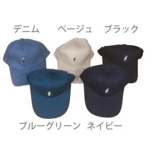 ゴルフ 帽子 キャップ カジュアル カラー キャップ ポロ柄刺繍 LK5|golfhands