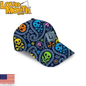 ゴルフ 帽子 キャップ ラウドマウス ジョリー・ロジャー キャップ LMCPJR|golfhands