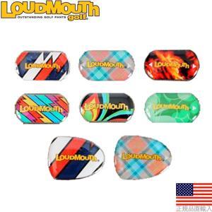 ラウドマウス LoudMouth ツアーマーク パターグリップ用 ボールマーカー (交換用/2個入) LMMR2 【200円ゆうメール対応】 golfhands