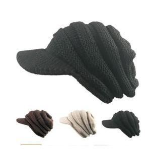 ゴルフ 帽子 キャップ レディース 帽子 キャップ ニット カジュアル MC-54|golfhands