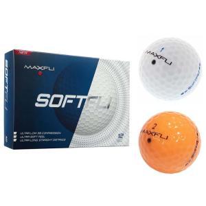 マックスフライ Maxfli ソフトフライ ゴルフボール (12個入) MX1550FTFLI|golfhands