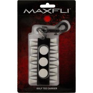 マックスフライ ラウンドツールホルダー (ゴルフティー12本/ボールマーカー3個)(Maxfli Golf Tee Carrier) MX209 【200円ゆうメール対応】 golfhands