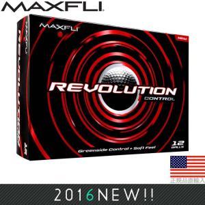 マックスフライ Maxfli レボリューション コントロール ゴルフボール (12個入) MXB0011|golfhands