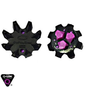 【即納】 バラ売 ソフトスパイク (Soft spikes) クラシック ブラックウィドウ Q-LOK スパイク鋲 US純正品 SS01-QF-T|golfhands