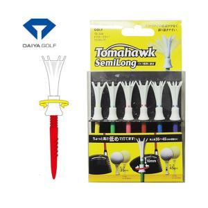 ゴルフ ティー ダイヤ トマホークティー セミロング 75mm (6本入) TE-504 TE-504|golfhands