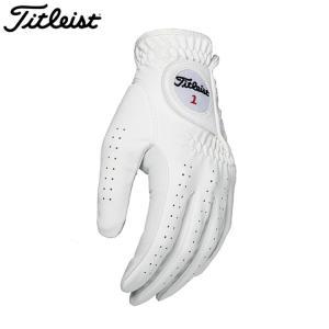 ゴルフ グローブ タイトリスト TG68 パーマテック メンズグローブ ホワイト (左手用) TG68|golfhands