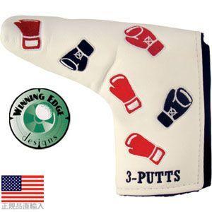 ウィニングエッジ Winningedge ノックアウト- 3パット パターヘッドカバー WE13100 【US正規品直輸入】 【200円ゆうメール対応】|golfhands