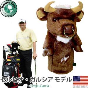 ウィニングエッジ Winningedge セルヒオ ガルシア ブラウンドライバーヘッドカバー WE20015 【US正規品直輸入】|golfhands