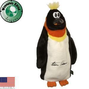 【処分価格】 ウィニングエッジ Winningedge ティムクラーク ペンギン ドライバーヘッドカバー WE20570 【US正規品直輸入】|golfhands