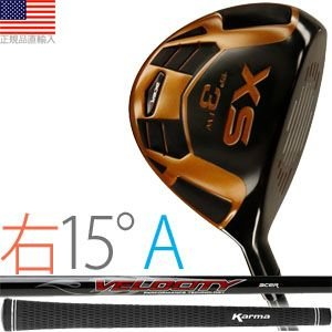 ゴルフ 完成品 クラブ フェアウェイ エーサー XS フェアウェイ (右打用/#3:ロフト角15°/シャフトフレックスA) XSF-R15A golfhands