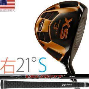 ゴルフ 完成品 クラブ フェアウェイ エーサー XS フェアウェイ (右打用/#7:ロフト角21°/シャフトフレックスS) XSF-R21S golfhands