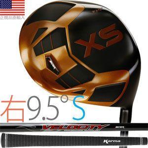 エーサー acer XS チタニウム ドライバークラブ (右打用/ロフト角9.5°/シャフトフレックスS)|golfhands