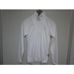 ヨネックス レディースハイネックシャツ GW5577 ホワイト/S|golfipride