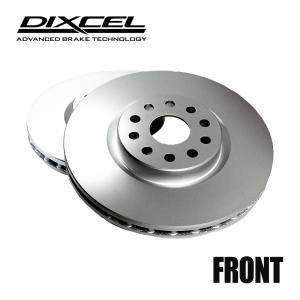 DIXCEL ブレーキローター PDタイプ フロント VOLKSWAGEN GOLFII/JETTAII 1.8 CLi/GLi 16RV/19RV 83/1〜92/12 ベンチディスク車 品番1312109 golfkeihinset