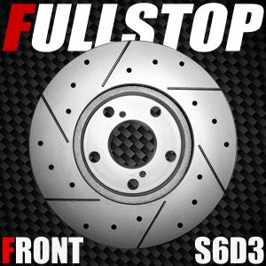 FULLSTOP ブレーキローター S6D3 フロント ムーヴ LA100S/LA110S 2010/12〜2012/12 NA 品番3818017|golfkeihinset