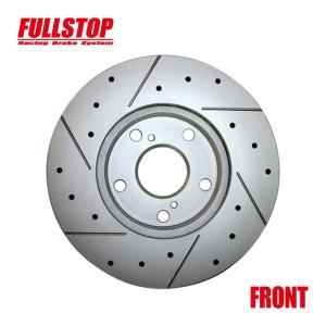 FULLSTOP ブレーキローター S6D3 フロント ムーヴラテ L550S 2004/8〜 品番3818017 golfkeihinset