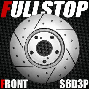 FULLSTOP ブレーキローター S6D3P フロント アルト HA36S 2014/12〜 ターボ(WORKS&RS) 品番3714049|golfkeihinset
