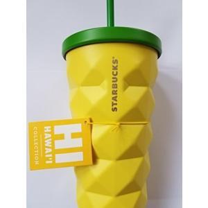 スターバックス ハワイ限定 ステンレス製 パイナップルタンブラー Starbucks Pineapp...