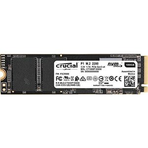 Crucial SSD M.2 1000GB P1シリーズ Type2280 PCIe3.0x4 N...