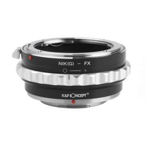 K&F Concept レンズマウントアダプター KF-NGX2 (ニコンFマウント(Gタイプ対応)...