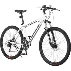 カノーバー(CANOVER) マウンテンバイク 自転車 21段変速 サスペンション ディスクブレーキ...