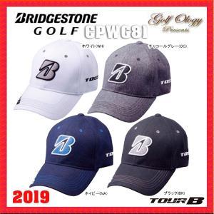 2019年モデル BRIDGESTONE Golf ブリヂストン ゴルフ TOUR B  Golf Cap CPWG81 マーカー付キャップ ※平日限定即納商品