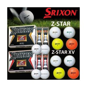 【国内正規モデル】 SRIXON スリクソン Z-STAR Z-STAR XV ゴルフボール 1ダース(12球) *平日即納|golfolympic