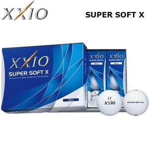 【17年モデル】 ゼクシオ ゴルフボール スーパーソフト X 1ダース(12球) SUPER SOFT X ダンロップ XXIO DUNLOP|golfolympic