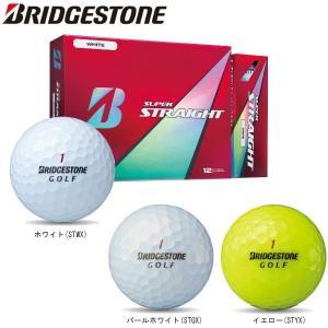 【2017年モデル】ブリヂストン ゴルフボール スーパーストレート1ダース(12球) SUPER STRAIGHT BRIDGESTONE|golfolympic