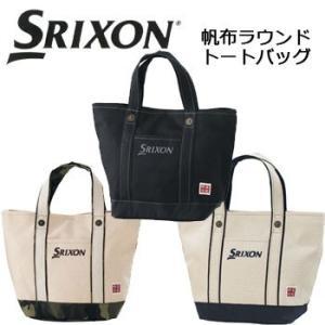【17年継続モデル】 スリクソン メンズ 帆布 ラウンド トートバッグ GGF-B4008 (Men's) SRIXON DUNLOP ダンロップ|golfolympic