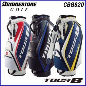 2018年モデル ブリヂストンゴルフ ツアービー BRIDGESTONE TOUR B  キャディバッグ スポーティベーシックモデル CBG820|golfolympic