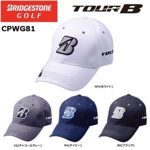 2018年 BRIDGESTONE ブリヂストンゴルフ TOUR B ツアービー 秋冬モデル CPWG81 プロモデルキャップ マーカー付き|golfolympic