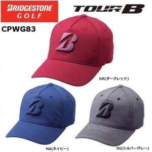2018年 BRIDGESTONE ブリヂストンゴルフ TOUR B ツアービー 秋冬モデル キャップ CPWG83|golfolympic