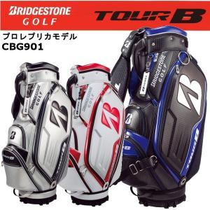 2018年モデル ブリヂストンゴル フ ツアービー BRIDGESTONE TOUR B キャディバッグ プロレプリカモデル CBG901|golfolympic