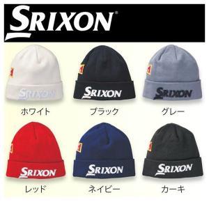 DUNLOP GOLF ダンロップ SRIXON スリクソン ニットキャップ 帽子 ツアープロ着用モデル SMH6162X|golfolympic