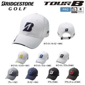 17年SSモデル ブリヂストンゴルフ メンズ プロモデルキャップ CPG711 Men's BRIDGESTONE TOUR B|golfolympic