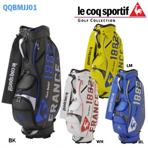 ルコックスポルティフ le coq sportif ゴルフ カートキャディバッグ 9.5型 QQBMJJ01|golfolympic