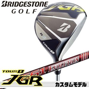 【17年モデル】メーカー正規カスタム ブリヂストンゴルフ TOUR B JGR フェアウェイウッド シャフト:SPEEDER EVOLUTION3 474 569 661 757 BRIDGESTONE GOLF|golfolympic