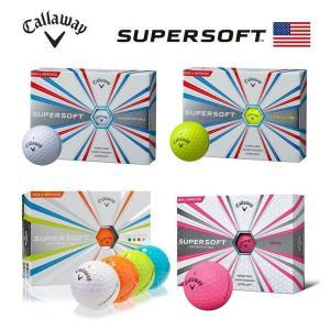 2017 キャロウェイ スーパーソフト 1ダース (12球入り)ゴルフボール US仕様|golfolympic