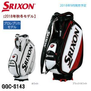 2018年秋冬モデル ダンロップ DUNLOP スリクソン SRIXON メンズ キャディバッグ GGC-S143 プロレプリカモデル|golfolympic
