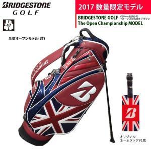 17年限定モデル 全英モデル ブリヂストンゴルフ スタンドキャディバッグ CBG771 Men's BSG BAG BRIDGESTONE GOLF|golfolympic