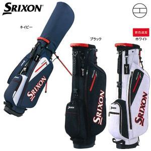 【17年継続モデル】 スリクソン メンズ スタンド式 キャディバッグ GGC-S115 (Men's) SRIXON ダンロップ DUNLOP|golfolympic