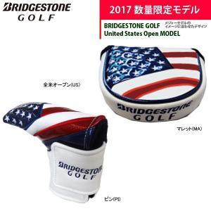 17年限定モデル 全米モデル ブリヂストンゴルフ パターカバー マレット型 ピン型 PCG770 Men's BSG BRIDGESTONE GOLF|golfolympic